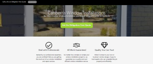 canberra window installations