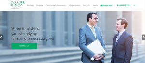 carroll and o'dea corporate lawyers in newcastle