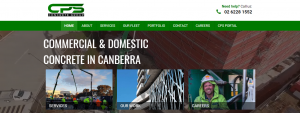 cps concrete group in canberra