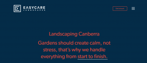 easycare landscaping in canberra