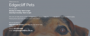 edgecliff pets in sydney