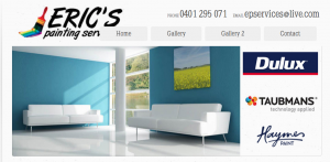 eric's painting services in newcastle