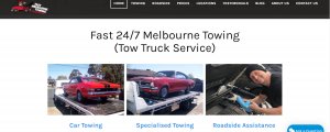 fast melbourne tow trucking service