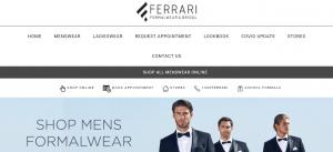 ferrari formalwear in adelaide