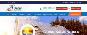 global solar world in sydney