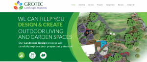grotec landscape solutions in gold coast
