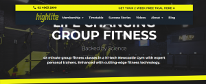 highlite personal trainers in newcastle
