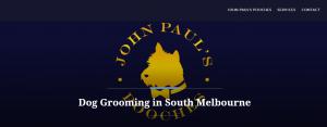 john paul dog grooming in melbourne