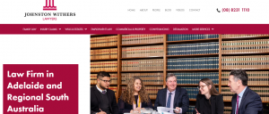 johnston withers lawyers in adelaide