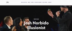 josh norbido, illusionist in brisbane