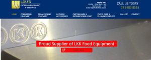 lou's catering equipment and services in canberra