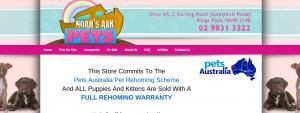 noah's ark pets in sydney