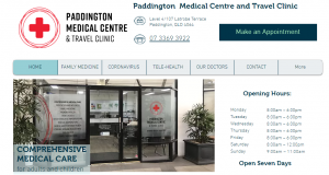 paddington medical centre and travel clinic in brisbane