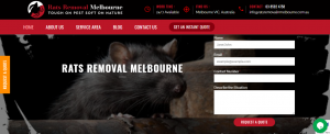 rats removal in melbourne