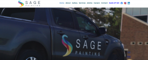 sage painting in newcastle