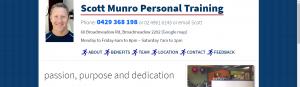 scott munro personal trainer in newcastle