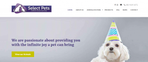 select pets in perth
