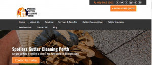 spotless gutter cleaning perth