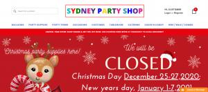 sydney party shop