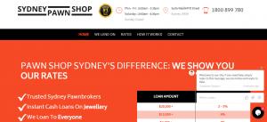 sydney pawn shop