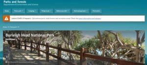burleigh head national park in gold coast