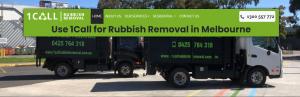 call rubbish removal in melbourne