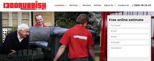 1300 rubbish removal services in melbourne