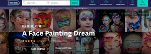 a face painting dream in sydney