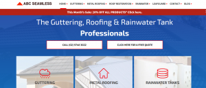 abc seamless gutter services in sydney
