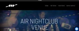 air nightclub venue in perth