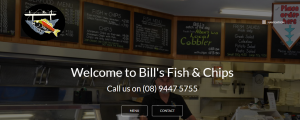 bill's fish and chips in perth