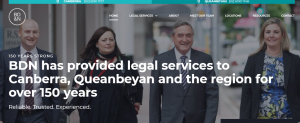 bnd lawyers in canberra