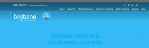 brisbane window and solar panel cleaning