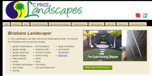 c price landscapes in brisbane