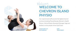 chevron island physio in gold coast