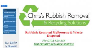 chris' rubbish removal services in melbourne
