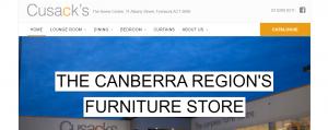 cusacks furniture in canberra