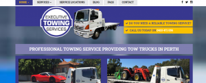 executive towing services in perth