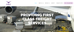 first couriers in sydney