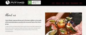 ginza miyako japanese restaurant in adelaide