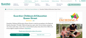 guardian childcare and education in brisbane