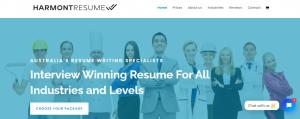 harmont resume writing in sydney
