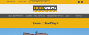 hireways equipment hire in perth