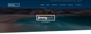 jimmy web design in sydney