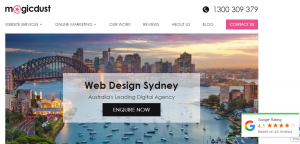 magicdust web developers in sydney