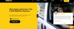 mailplus courier services in sydney