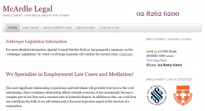 mcardle legal in sydney