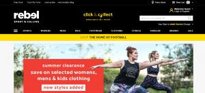 rebel sports store in gold coast
