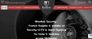 rhodium security systems in melbourne