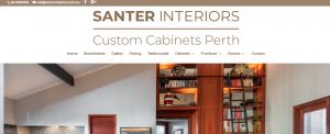 santer interiors custom cabinets in perth